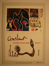(NL1043) PAINTING CONSTANT 1988 NETHERLANDS maximum maxi card postcard