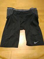 Nike Pro Combat Size 3XL Dri-fit Padded Compression Shorts Football Basketball
