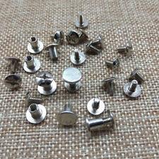 20Pcs Leather Hardware Accessories Rivet Caps Screw Studs Set Belt Luggage Decor