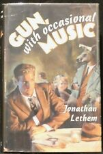 Lethem, Jonathan.  Gun, with Occasional Music.  Signed, First Ed, 2nd Printing