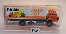 Roskopf RMM 1/87 Nr. 404 Saurer D 290/330 2-achser LKW Kasten COOP OVP #5380