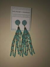 Beaded Tassle Drop Earrings Nordstrom Melrose and Market