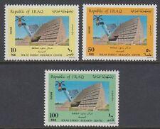 Irak Iraq 1985 ** Mi.1262/64 Gebäude Building Sonnenenergie Solar Energy