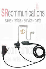 Two wire Surveillance Style Headset Earmold Icom F3061 F4061 F3161 F4161 M87 M88