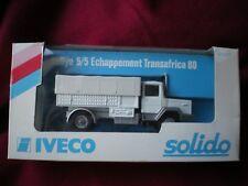 IVECO RALLYE 5/5 ECHAPPEMENT TRANSAFRICA 80 SOLIDO 1/50