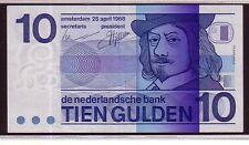 Olanda Netherland  10 Gulden  1986 unc FDS pick 91  lotto 2558