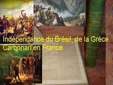 Brésil indépendance du Brésil Portugal Grèce Espagne 1822 rare