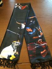 Roger FedererGrand Slam Tennis Wrap Muffler Costume Shawl Quasten Schal