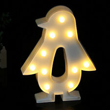 Home Decoration Night Light Led Lovely Penguin Animals Bedroom Christmas Gifts