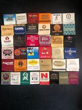 ~Lot Of 38 Las Vegas And Nevada Casinos-Vintage Matchbooks Collectors Item-