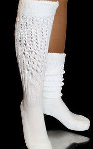 Slouch Scrunchie knee Socks Hooters Uniform Long  women's cotton School Flaw new