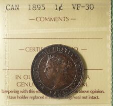 1895  - Canada Large Cent - ICCS Graded VF-30 - Serial #XBW 675