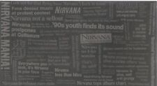 Nirvana With The Lights Out 2004 Historical Brochure From Geffen Records