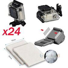 24x Anti-Fog Drying Inserts for Gopro HD Hero 4 3 3+ 2 1 SJ400 Sony Action Cam