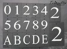 Numbers Personalised Modern Decorative Plaques & Signs