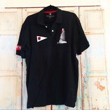 Nautica Bermuda racing polo shirt large logos XL