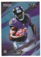 2015 Topps Fire Rookies Silver Foil Parallel RC #17 Breshad Perriman Ravens