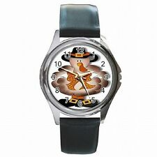 Thanksiving Turkey Pilgrim Holiday Accessory Leather Watch New!