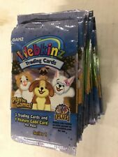 Webkinz Trading Cards Booster Box LOT Of 24 Series 1 Packs With Online Codes