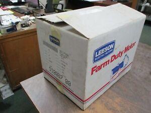 Leeson Farm Duty Motor 110087.00 3/4HP 1800RPM FR:D56 ENCL:TEFC 115/208-230V 1Ph