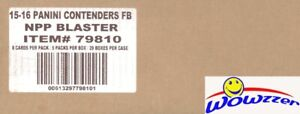 2015 Panini Contenders Football 20 Box Blaster Sealed CASE-10 AUTO+20 RC SWATCH