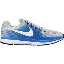 Nike Air Zoom Pegasus 34 Wide (4E) Grey/White/Blue Size 10.5 New