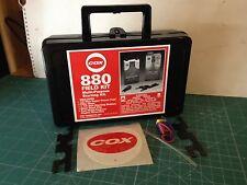 Vintage Cox Hobbies  880 FIELD KIT MALETIN NO TIENE BATERIA NI GASOLINA VER FOTO