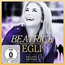 BEATRICE EGLI -BIS HIERHER UND VIEL WEITER (GOLD EDITION)(DELUXE)  CD + DVD NEW+