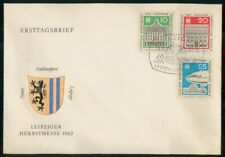MayfairStamps Germany 1962 Liepzig Herbstmesse Event First Day Cover wwk57151