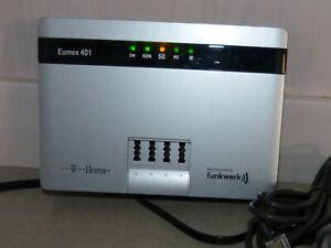 Eumex 401 T-Com / Telekom / Funkwerk ISDN-Telefonanlage