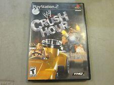 PS2 - WWE Crush Hour - W/ MANUAL - VERY GOOD - FREE SHIPPING