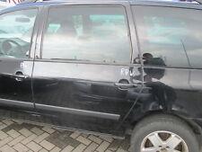 Tür hinten links VW Sharan 2000-2004 unischwarz L041 schwarz