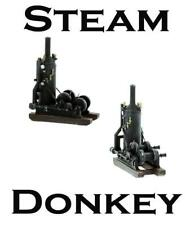 VINTAGE STEAM Donkey Engine O Scale FINISHED MODEL very well detailed
