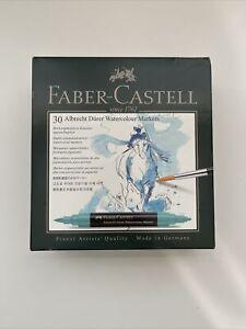 Faber-Castell Albrecht Durer Artists' Watercolor Markers – 30 Assorted Colors.