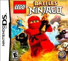 LEGO Battles: Ninjago (Nintendo DS, 2011) NEW & SEALED Free Shipping