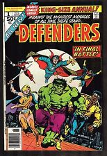 "Defenders Annual Special #1 ~ ""World Gone Sane?"" ~ 1976 (7.0) Wh"