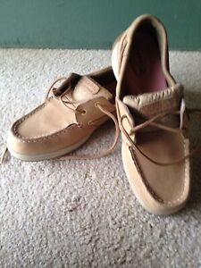 Sperry Boat Shoes Size 8 Ladies