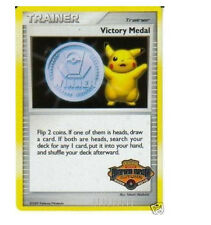 Pokemon VICTORY MEDAL Autumn 2009-2010 Holo Foil Star PROMO Card!