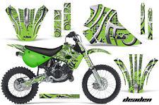 Kawasaki KX80 KX100 Graphic Kit AMR Racing Bike Decal Sticker KX 95-97 DEADEN G