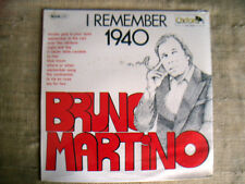 Bruno Martino ‎– I Remember 1940 - LP SIGILLATO / SEALED