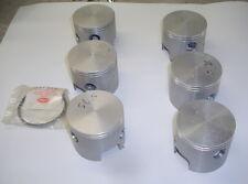 WISECO 3000p3 3001p3 MARINE FORGED PISTON KIT MERCURY V6 2.4L 200HP 225HP