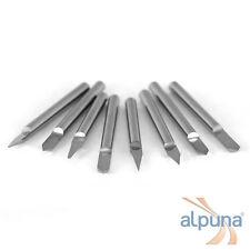 10 Buril GRABADO A Buril 3,175mm (1/8 pulgadas) / 40° / 0,3mm borde de corte