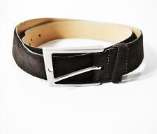 Weinmann Original Classic Suede Leather Belt Brown