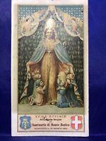 SANTINO HOLY CARD BEATA VERGINE DEL SANTUARIO DI MONTE BERICO VICENZA 1900
