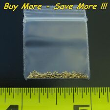 .195 Gram Natural Raw Alaskan Placer Gold Nugget Fines Flake Panned Mined Alaska