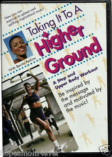 New! TAKING IT TO HIGHER GROUND  DVD Exercise Workout w/ Gospel Music FREE SHIP