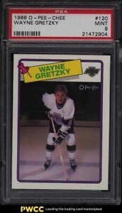 1988 O-Pee-Chee Hockey Wayne Gretzky #120 PSA 9 MINT