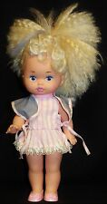Mattel Lil Miss MakeUp Doll 1988 1977 Blond Heart Cheek Shirt Vest Panties Shoes
