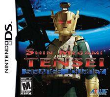 Shin Megami Tensei: Strange Journey- Atlus RPG - Nintendo DS & 3DS