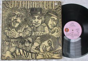 JETHRO TULL – Stand Up – UK 1st Press Pink Island Bullseye